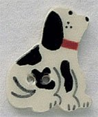 86214 - Dalmation Facing Right 3/4in x 1in - 1 per pkg